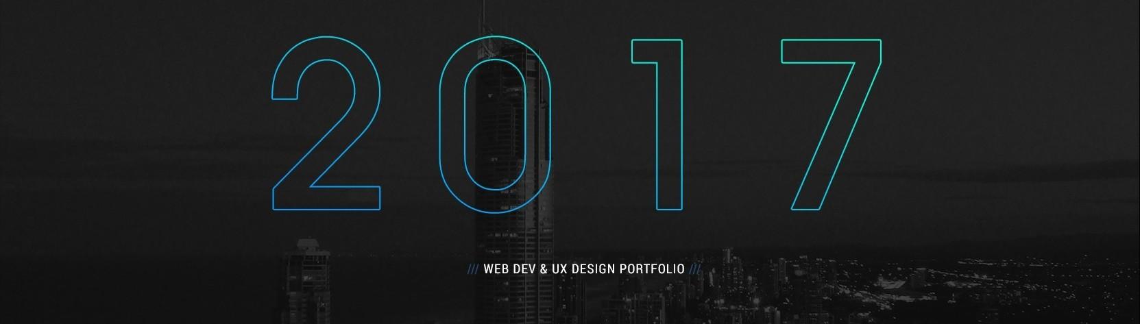 Web & UX Designer Portfolio of 2017