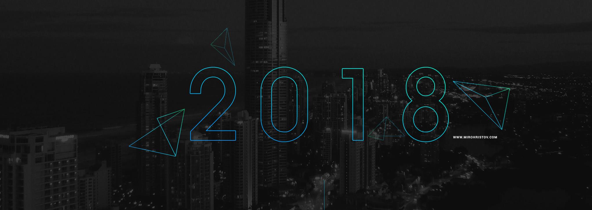 Web & UX Designer Portfolio of 2018